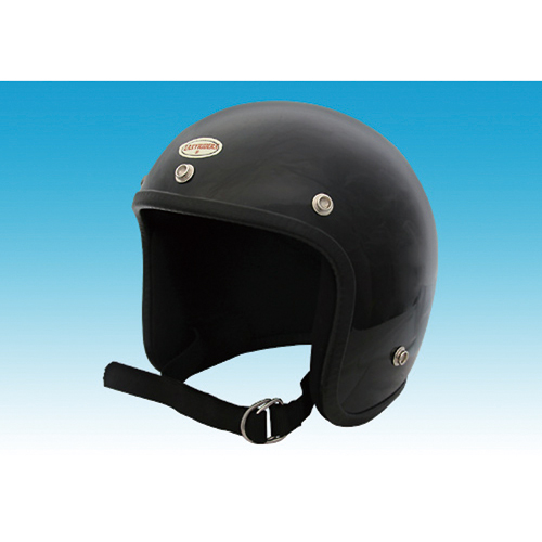 ジェットタイプ ヘルメット 9650 ビンテージヘルメット ブラック 9650 EASYRIDERS(イージーライダース) 1個