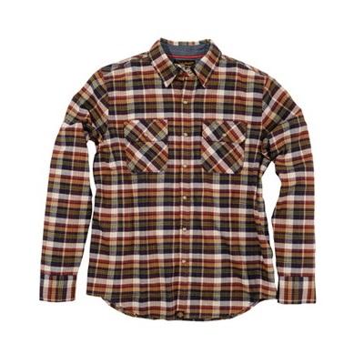 取寄 NHB1504 93244 NHB-1504 ネルシャツ ブラウン M HenlyBegins(ヘンリービギンズ) ブラウン 1着