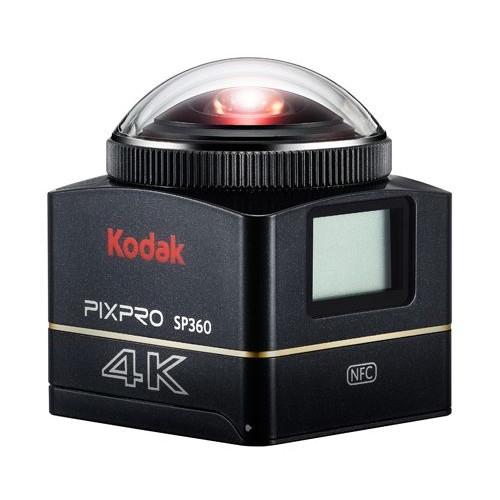 取寄 93436 KODAK PIXPRO SP360 4K アクションカメラ KODAK(コダック) 1セット