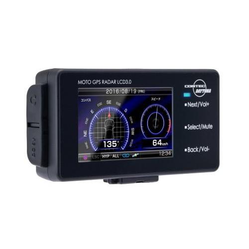 取寄 94420 MOTO GPS RADAR LCD 3.0 DAYTONA(デイトナ) 1個