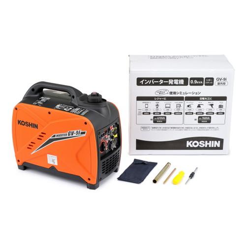 デイトナ KOSHIN GV-9i インバーター発電機 メーカー品番:94701 1セット