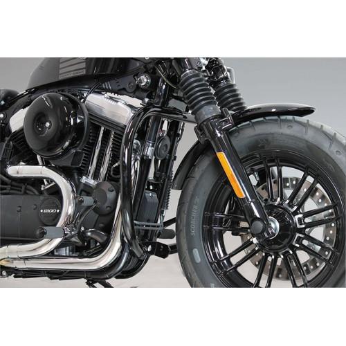 取寄 HD-05068 エンジンガード 04-16y XLスポーツスターモデル ブラック KIJIMA(キジマ) ブラック 1セット