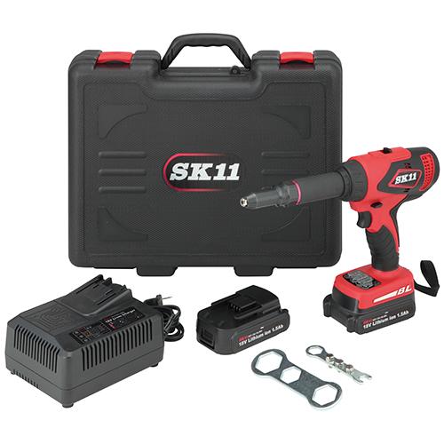 SRG-180V-15LID 充電式リベッター SK11 1個