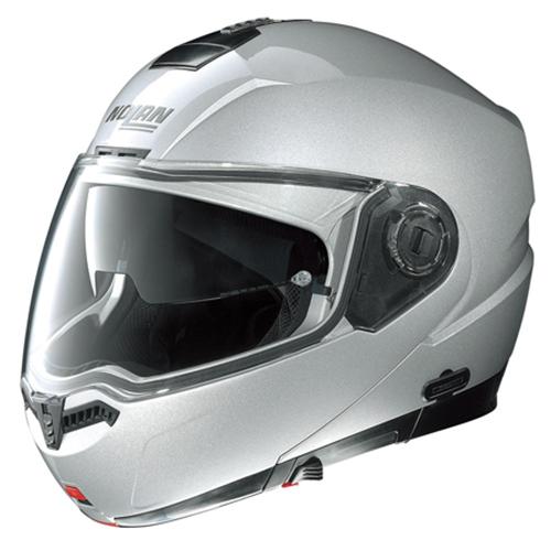 ヘルメット 78491 N104 PLAT SV WH M NOLAN