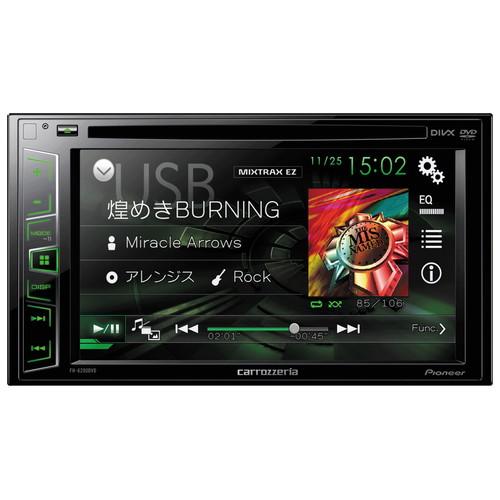 取寄 FH-6200DVD 6.2V型ワイドVGAモニター/DVD-V/VCD/CD/USB/チューナー・DSPメインユニット Pioneer(パイオニア) 1セット