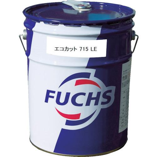 取寄 EC715LEPL エコカット715LE油性切削油活性20Lペール缶 フックスジャパン 淡黄色 1缶
