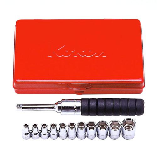 取寄 2203A 2203A 1/4(6.35mm)SQ. ソケットセット 12ヶ組 ko-ken(コーケン) 1セット
