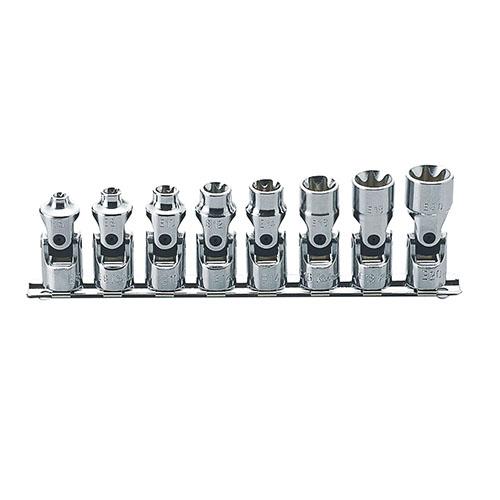 取寄 RS3440T/8 RS3440T/8 3/8(9.5mm)SQ. トルクスユニバーサルソケットレールセット 8ヶ組 ko-ken(コーケン) 1セット