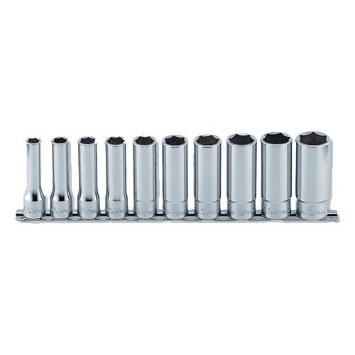 取寄 RS4300M/10 RS4300M/10 1/2(12.7mm)SQ. 6角ディープソケットレールセット 10ヶ組 ko-ken(コーケン) 1セット