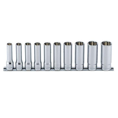 取寄 RS4310M/10 RS4310M/10 1/2(12.7mm)SQ. サーフェイスディープソケットレールセット 10ヶ組 ko-ken(コーケン) 1セット