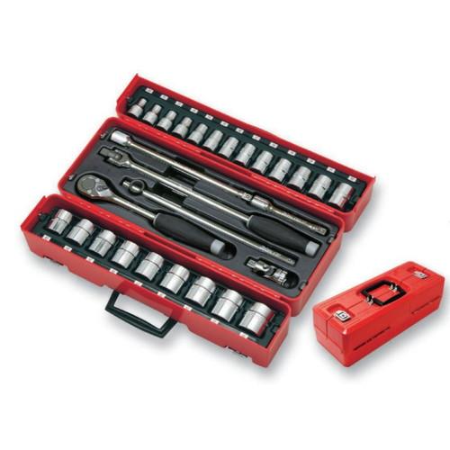取寄 P4241M-01 P4241M-01 1/2(12.7mm)SQ. ソケットセット 28ヶ組 ko-ken(コーケン) 1セット
