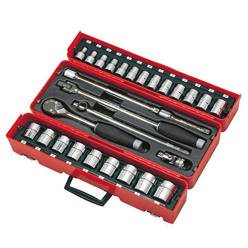 取寄 P4241M-06 P4241M-06 1/2(12.7mm)SQ. ソケットセット 28ヶ組 ko-ken(コーケン) 1セット