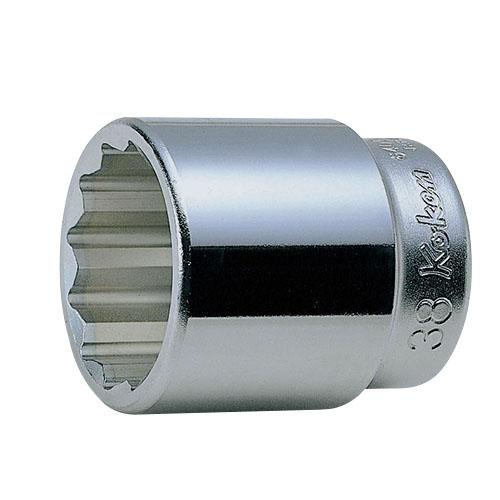 取寄 6角ソケット 6405M-64 6405M-64 3/4(19mm)SQ. 6角ソケット 64mm ko-ken(コーケン) 6角ソケット 1個