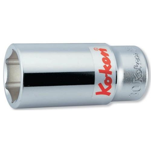 取寄 6角ディープソケット 6300A-2.1/8 6300A-2.1/8 3/4(19mm)SQ. 6角ディープソケット 2.1/8 ko-ken(コーケン) 6角ディープソケット 1個