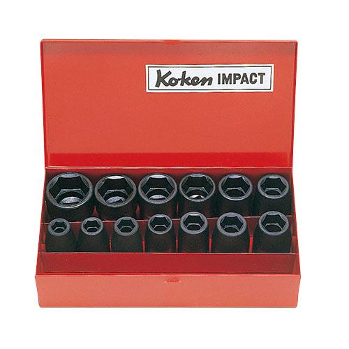 14241M 14241M 1/2(12.7mm)SQ. インパクトソケットセット 13ヶ組 ko-ken(コーケン) 1セット