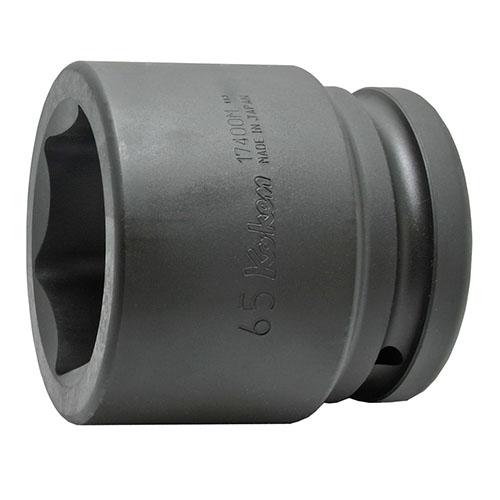 取寄 6角ソケット 17400M-52 17400M-52 1.1/2(38.1mm)SQ. インパクト6角ソケット 52mm ko-ken(コーケン) 6角ソケット 1個