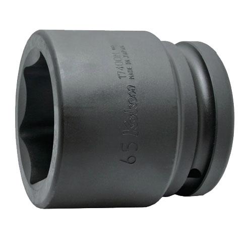 取寄 6角ソケット 17400A-2.5/8 17400A-2.5/8 1.1/2(38.1mm)SQ. インパクト6角ソケット 2.5/8 ko-ken(コーケン) 6角ソケット 1個