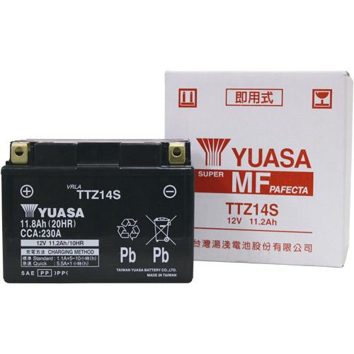 YTZ14S互換 TTZ14S 台湾ユアサ 液別MFバッテリー DN-01/CB1100/VT1300CR/XJR1300対応