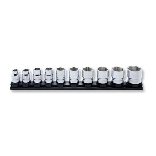 取寄 RS4400MZ/10 1/2(12.7mm)SQ. Z-EAL 6角ソケット レールセット 10ヶ組 Z-EAL(ジール) 1セット