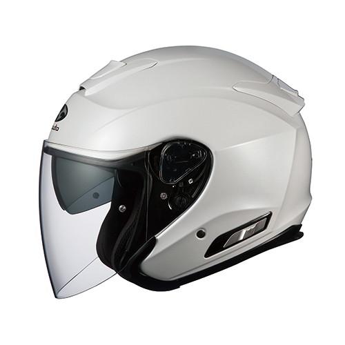 ヘルメット ASAGI パールホワイト M OGK[オージーケーカブト]