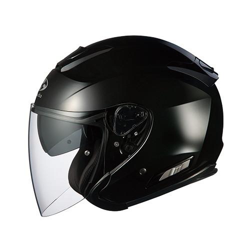 ヘルメット ASAGI ブラックメタリック XS OGK[オージーケーカブト]