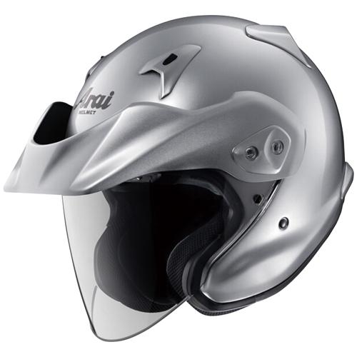 ヘルメット CT-Z アルミナシルバー M Arai