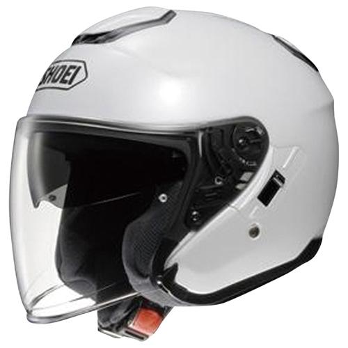 ヘルメット J-Cruise ルミナスホワイト M SHOEI
