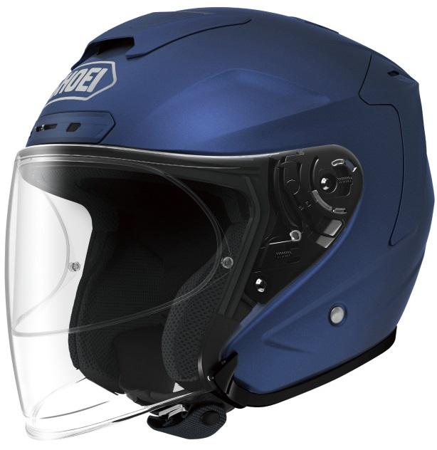 ヘルメット J-FORCE4 J-FORCE4 マットブルーメタリック L SHOEI