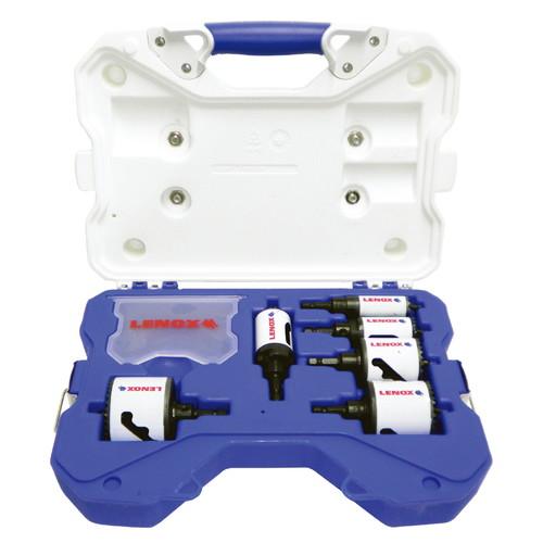 締付け・穴あけ[電動] 34081600AE バイメタル軸付ホルソーセット電気工事用 LENOX
