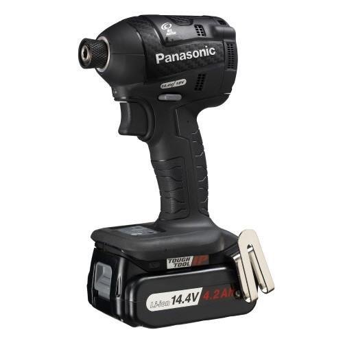 取寄 EZ75A7LS2F-B 14.4V充電インパクトドライバー Panasonic(パナソニック) 本体:黒 1台