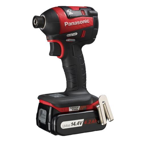 取寄 EZ75A7LS2F-R 14.4V充電インパクトドライバー Panasonic(パナソニック) 本体:赤 1台