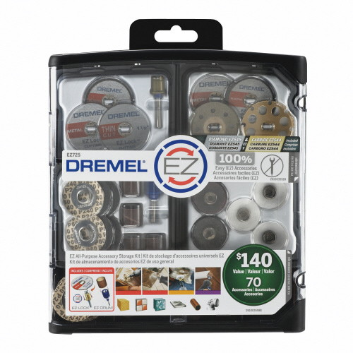 取寄 EZ725 EZ Lockメガキット EZ725 Dremel(ドレメル) 1セット