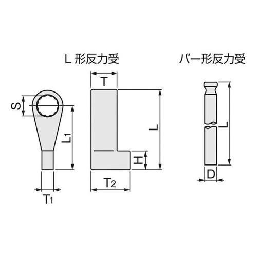取寄 50LH80 50LH80 反力受/パワーレンチ用 TONE(トネ) 1個