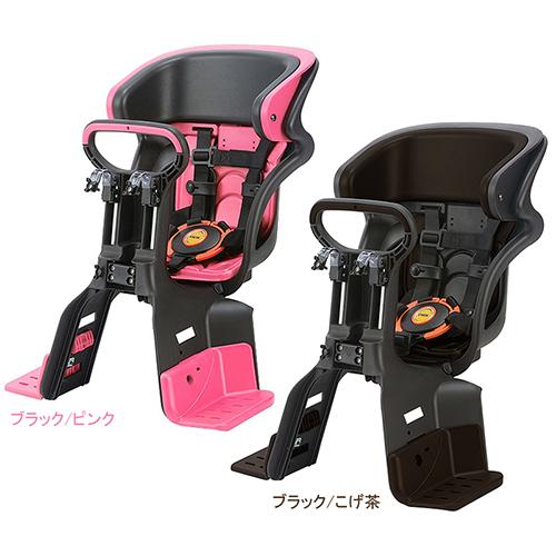 前用 FBC-011DX3 FBC-011DX3 ヘッドレスト付コンフォート前子供のせ ブラック/こげ茶 OGK(オージーケー技研) ブラック/ダークブラウン 1個