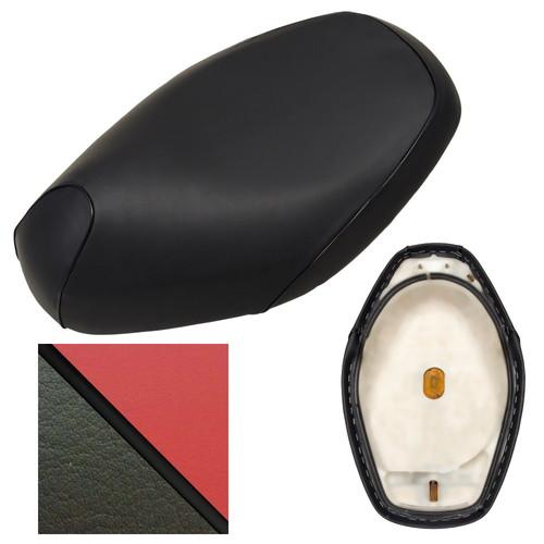 取寄 TGH1001C40C10P10 TGH1001C40C10P10 シート張替サービス スーパーカブ/プレスカブ ALBA(アルバ) 生地色:座面赤、サイド色:黒ツートンカラー仕様、パイピング色:黒 1個