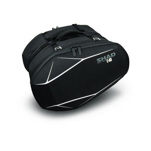 【正規通販】 X0SE48 E48 ブラック サドルバッグ ブラック E48 SHAD(シャッド) 1個 1個, 書楽:234add0d --- konecti.dominiotemporario.com