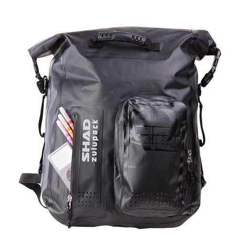 W0SB35 SW35 zulupack 防水リア用バッグ ブラック 35L SHAD(シャッド) 1個