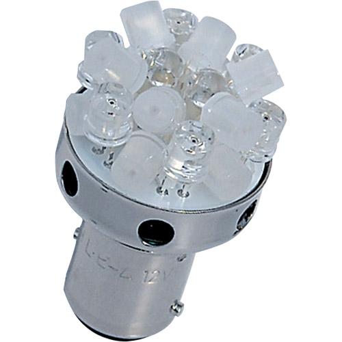 LED L820S OR L820S OR 12V BA15S M&H オレンジ 1ケース(10個入)