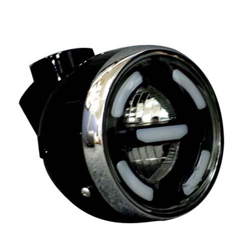 ハイクオリティ - 取寄 dax-00046-BK ダックス用 スマートLEDヘッドライト 1セット KEPSPEED ブラック ケップスピード いつでも送料無料