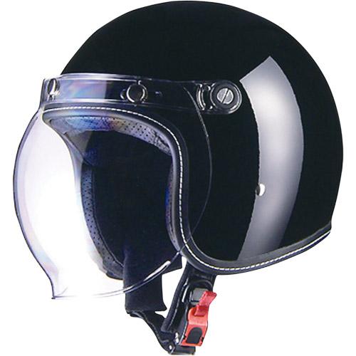 取寄 ジェットタイプ MR-70 Murrey MR-70 ジェットヘルメット ブラック M リード工業(LEAD) ブラック 1個