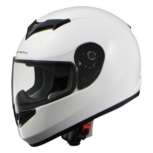 取寄 フルフェイスタイプ SF-12 STRAX SF-12 フルフェイスヘルメット ホワイト M リード工業(LEAD) ホワイト 1個