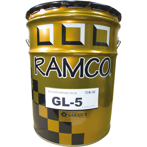 取寄 鉱物油 HP GL5 75W-90 ギヤオイル 20L RAMCO(ラムコ) 鉱物油 1缶(20L)