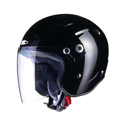 取寄 ジェットタイプ RAZZO 3 RAZZOIII エクストリーム ジェットヘルメット ブラック L リード工業(LEAD) ブラック 1個