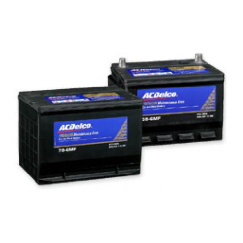 取寄 86-7MF 米国車用メンテナンスフリーバッテリー 86-7MF ACDelco(ACデルコ) 1個