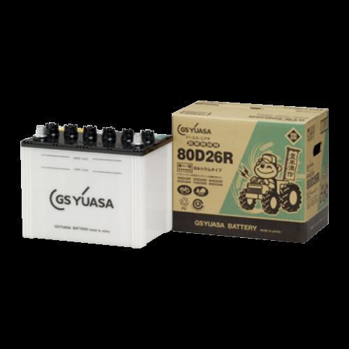 取寄 GYN-80D26 L 農業機械用 高性能カーバッテリー GYN-80D26 L GSユアサ 1個