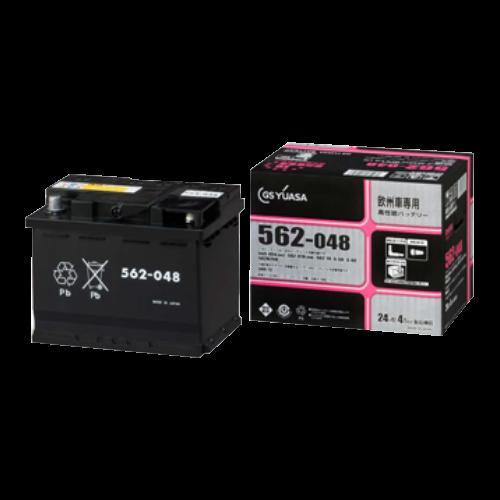 取寄 EU-580-072 欧州車専用 高性能カーバッテリー EU-580-072 GSユアサ 1個