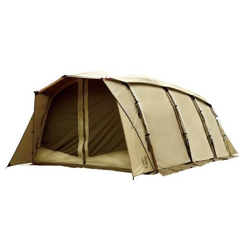 取寄 2774 Apollon(アポロン) 5人用アーチ型テント CAMPAL JAPAN(キャンパルジャパン) サンドベージュ×ダークブラウン 1個