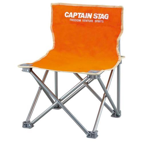 - (人気激安) M-3918 新作多数 パレット コンパクトチェア ミニ オレンジ 1個 STAG CAPTAIN キャプテンスタッグ