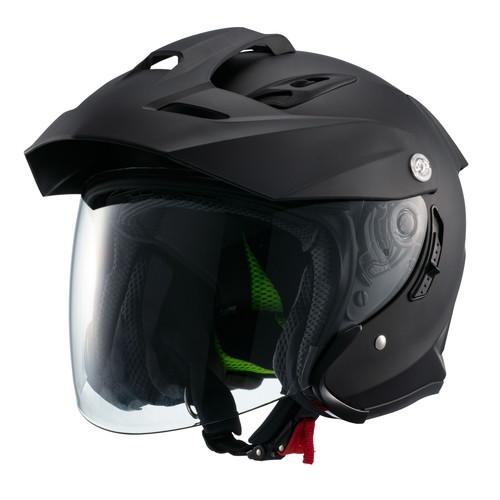 ジェット TE-1 スポーツスチルヘルメット MSJ1 TE-1 XL マットブラック マルシン工業(Marushin) マットブラック 1個