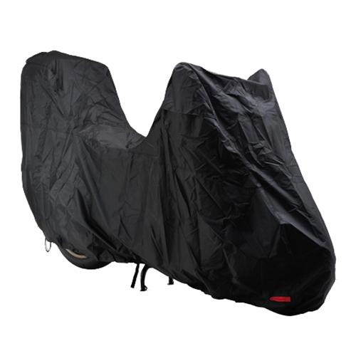取寄 97953 ブラックカバー ウォーターレジスタント ライト ビッグスクーター/トップケース装着車用 DAYTONA(デイトナ) ブラック 1枚